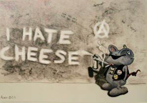 I hate cheese