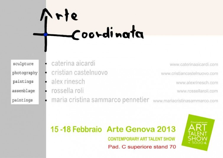 Arte Genova 2013, Einladung