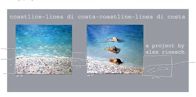 Coastline–Ausstellung in der Schmuckwerkstatt, Einladung